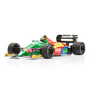Diecast Model Benetton Ford B187 Thierry Boutsen 1987 in Benetton