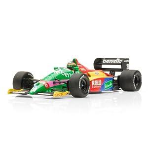 Diecast Model Benetton Ford B187 Thierry Boutsen 1987 in Benetton
