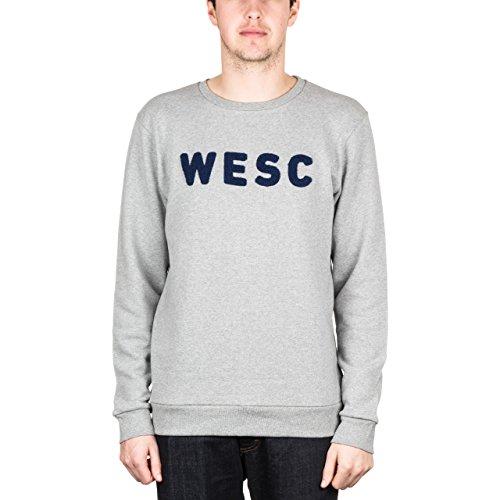 WeSC Braden Crew Sweat Grey Melange X-Large