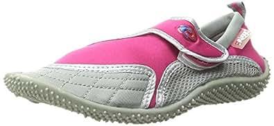Aquatik Men & Women Aqua Water Shoes - Beach Shoes (Women 10, Pink Grey)