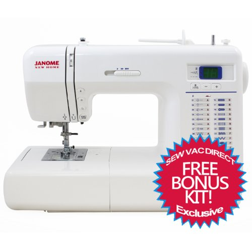 Janome 8077 Computerized Sewing Machine With Free Bonus Accessories!!