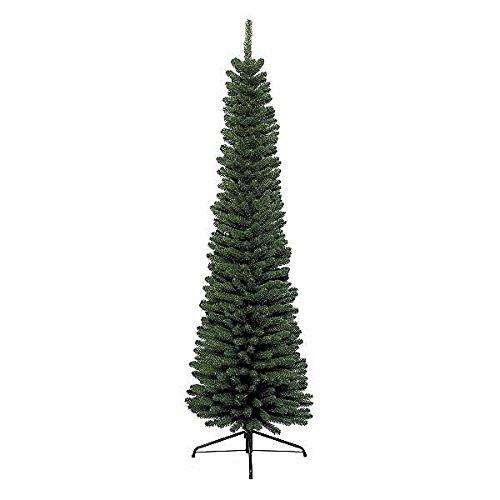 Kaemingk 680061 Pencil Pine, Schlanker Baum, Soft Nadel PVC, innen, Höhe 180 cm thumbnail