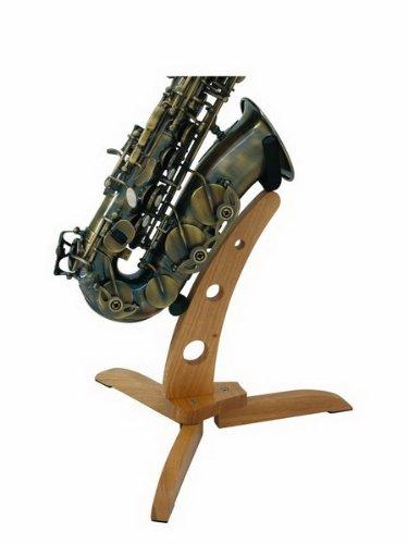 DIMAVERY Design Holzständer für Saxophone