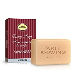 The Art Of Shaving Sandalwood Men's Body Soap, 7.0 Ounce