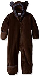 Columbia Baby Tiny Bear II Bunting, Bark, 0-3 Months