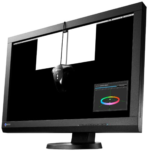 NANAO EIZO ColorEdge 24型カラーマネジメント液晶モニター ColorNavigator EX2付属モデル 1920x1200 DVI-I DisplayPort HDMI ブラック ColorEdge CX240-CNX
