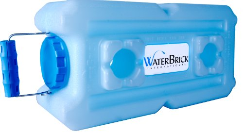 WaterBrick Water Container 3.5 Gallon BPA Free Portable and Stackable