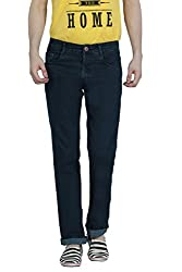Louppee Jeans Men's Relaxed Jeans (Vkgroup-1_Green_28)