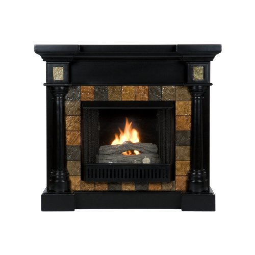Black Friday Sei Carrington Convertible Gel Fuel Fireplace