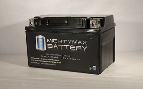 YTX7A-BS Battery for Kymco People 200 S (2010 - 2011) - Mighty Max Battery brand product columbia women s mighty lite iii vest