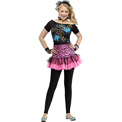 80s Pop Party Diva Teen Costume - Teen