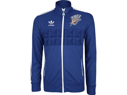 Oklahoma City Thunder NBA Originals Adidas Court Series Jacket (XL)