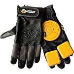 Sector 9 Niner Surgeon Black / Charcoal Large / X-Large Slide Gloves Downhill Slide Gloves