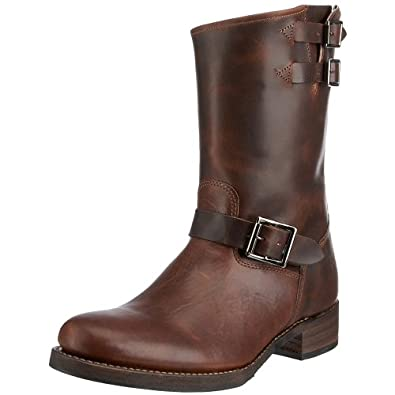 FRYE Men's Brando Engineer Boot Tobacco 8 M US