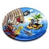 10 Assiettes Playmobil Pirate - Anniversaire Enfant - Goûter enfant