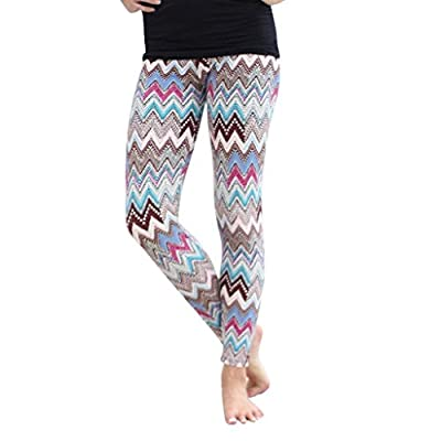 ABC® Pants, Leggings, Womens Stretchy Casual Print Skinny Leggings Pants