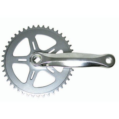 Sunlite Alloy Single Speed Crankset - 152mm x 32T, Silver
