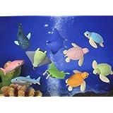 Iwako Japanese Erasers - Sea Animals (No.2)