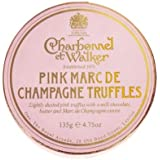 Charbonnel et Walker Pink Marc de Champagne Luxury Chocolate Truffles x 8