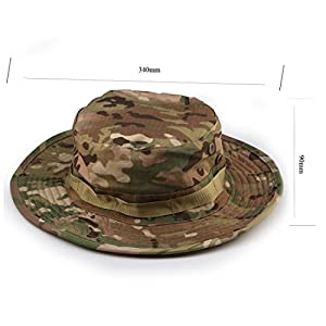 Outdoor tactique militaire Sun Camo Hat (CP)