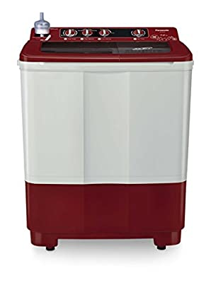 Panasonic NA-W72B2RRB Semi-automatic Washing Machine (7.2 Kg, Maroon)