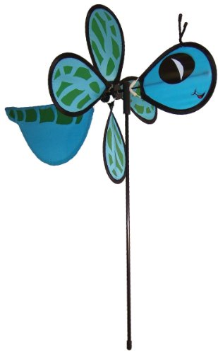 In the Breeze Dragonfly Baby Bug Garden Spinner