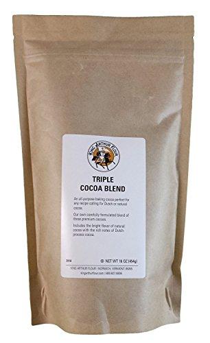 King Arthur Flour Triple Cocoa Blend - 1 lb (454g) (King Arthur All Purpose Baking compare prices)