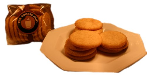 Homemade Snickerdoodle Cookies Snackers, 2 Doz.