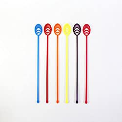 Gridyy Feather - Stirrer Pack of 6