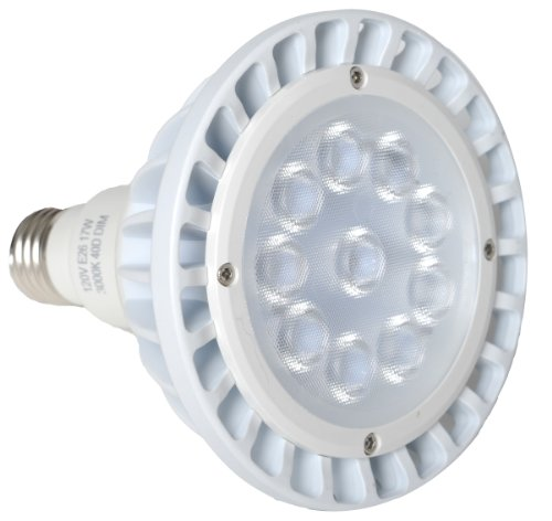 Avalon Led Bb003 17-Watt Par38 Warm White 3000K Cree Xbd Chip 40-Degree Beam Spread Light Bulb