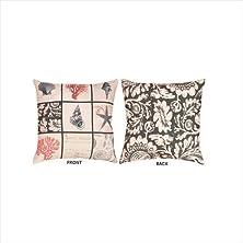 buy Manual Climaweave Indoor/Outdoor Throw Pillow, Reversible Vintage Seaside, 20 X 20-Inch