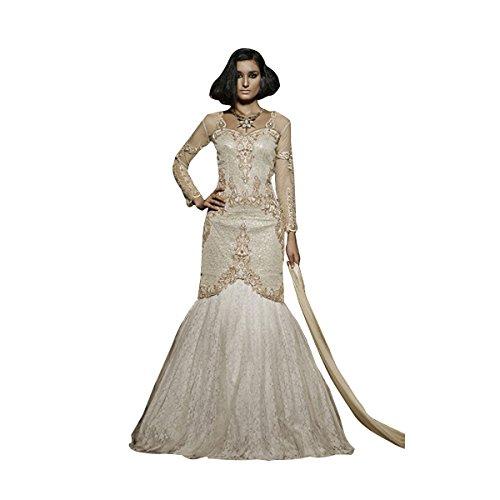 INDIAN GOWN PAKISTANI DESIGNER ANARKALI SALWAR KAMEEZ SUIT DUPATTA PARTY WEAR BRIDAL WEDDING