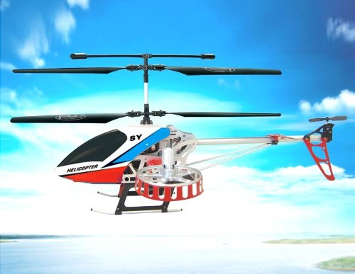 SongYang 8088-47 4-Channel Remote Control Helicopter (White)