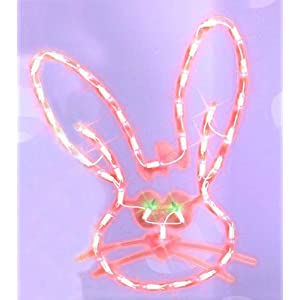 Lighted Easter Window Silhouette Decoration 2