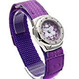 Ladies/Girls Purple/Lilac Terrain Boardrider Sports Surf Watch-Velcro Strap+Rotating Bezel-50m Water Resitant-1417