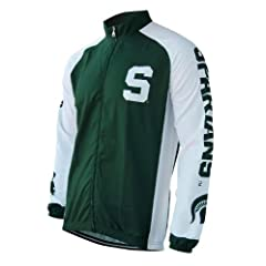 Michigan State Cycling Jacket by Collegiate Cycling Gear, Inc.
