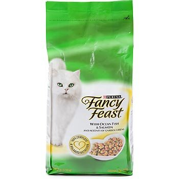 Image of Purina Fancy Feast Gourmet Cat Food, Ocean Fish and Salmon, 7-Pound Bag