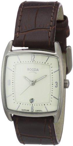 Boccia Ladies Titanium Leather Strap Watch B3149-02