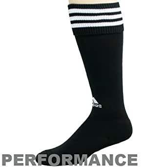 Olympics adidas Black Copa Zone Cushion Performance Soccer Socks (Small)