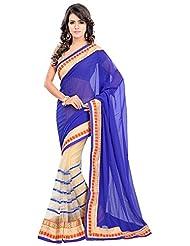Bano Tradelink Women's Chiffon Saree(7011)
