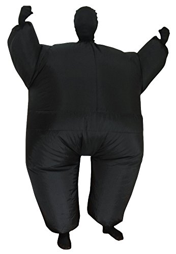Black Inflatable Body Suit - Adult Large
