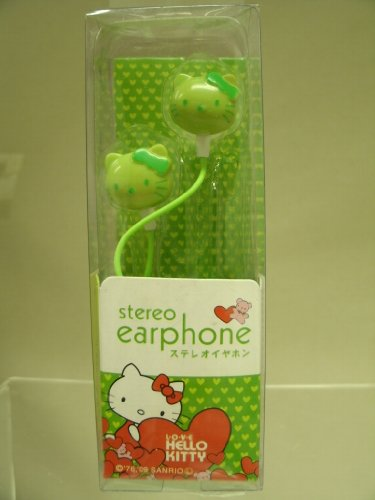 ?Hello Kitty Headphone Colourful In-ear EHP Kitten Earphone for MP3 in Retail BOX 3.5cm - 1