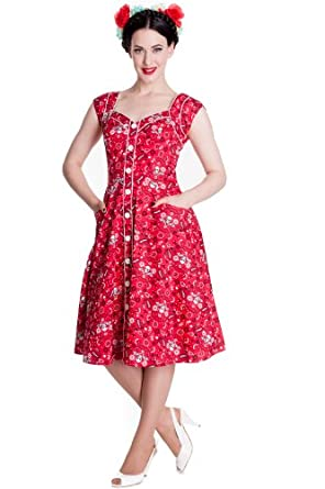 Robe rouge xs