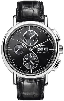 NEW IWC PORTOFINO CHRONOGRAPH AUTOMATIC MENS WATCH IW378303