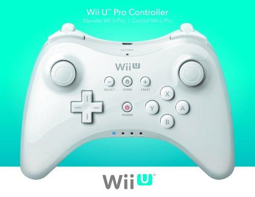 Nintendo Wii U Pro Controller - White (Nintendo Wii U)