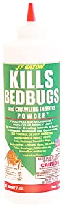 JT Eaton 203 Bedbug and Crawling Insect Powder with Diatomaceous Earth, 7-Ounce bottle from JT Eaton