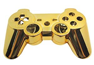 PS3 Chrome Gold Replacement Controller Shell: Amazon.co.uk