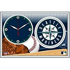 Seattle Mariners Framed Clock by MLB