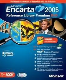 Microsoft Encarta Reference Library 2005 (Dvd-Rom)