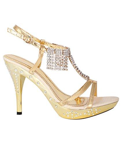 Scarpe col Tacco: Oro, 40